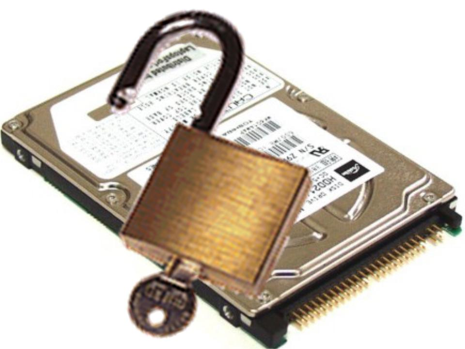 Locked Hard Disk Solution
